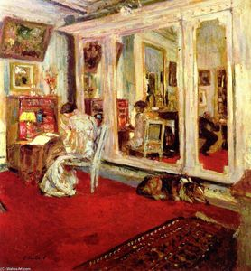 Jean Edouard Vuillard - The Hessels in Their Dressing Room