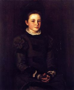 John Butler Yeats - Hester Dowden as a Child