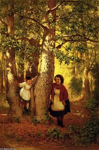 John George Brown - Hide and Seek