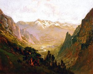 William Keith - High Sierra Canyon
