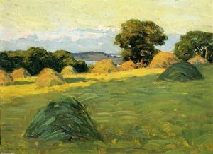 Arthur Wesley Dow - The Hill Field