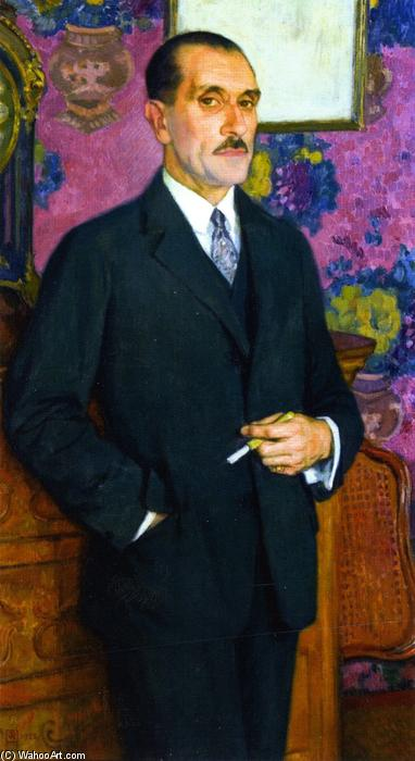 H Le Bœuf, 1923 by Theo Van Rysselberghe (1862-1926, Belgium) | WahooArt.com