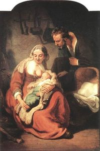 Rembrandt Van Rijn - The Holy Family