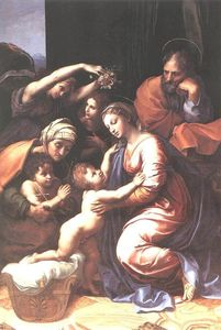 Raphael (Raffaello Sanzio Da Urbino) - The Holy Family