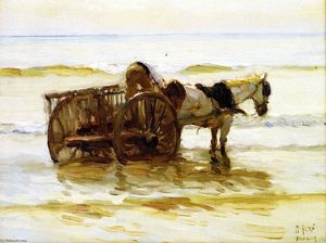 Mathias Joseph Alten - Horse Cart