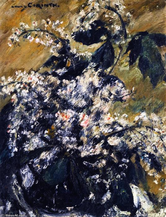 Horse Chestnut Blossoms, Oil On Canvas by Lovis Corinth (Franz Heinrich Louis) (1858-1925, Netherlands)