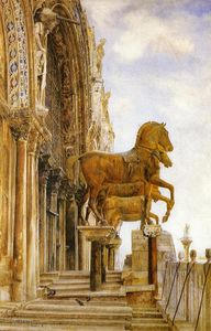 Henry Roderick Newman - The Horses of St. Mark-s