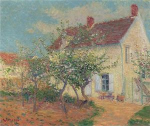 Gustave Loiseau - House in the Country