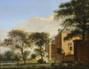 Jan Van Der Heyden - The House in the Wood, The Hague