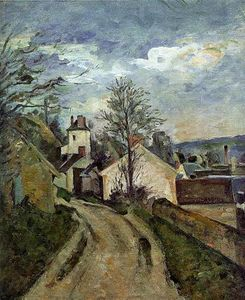 Paul Cezanne - The House of Dr. Gached in Auvers