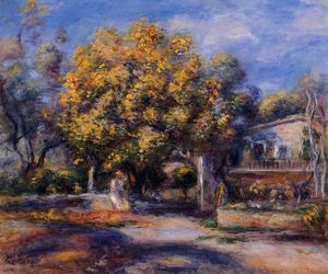 Pierre-Auguste Renoir - Houses at Cagnes