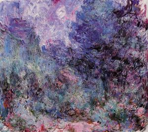 Claude Monet - The House Seen from the Rose Garden
