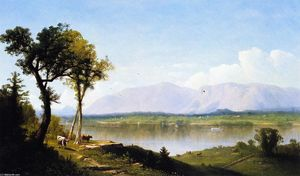 John Williamson - The Hudson at the Catskill Mountain House