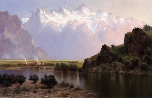 Edwin Deakin - Humbolt Mountains, Ruby Range, Nevada