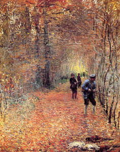 Claude Monet - Hunting (also known as The Shoot)