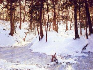 Walter Launt Palmer - Ice in the Glen