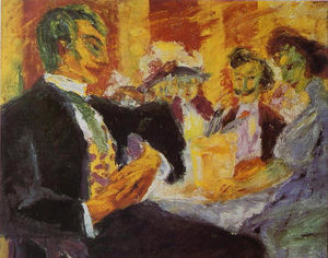 Emile Nolde - In the Café