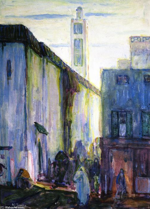 In Constantine, 1908 by Henry Ossawa Tanner (1859-1937, United States) | Art Reproduction | WahooArt.com