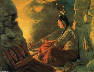 William Gilbert Gaul - Indian Meditation