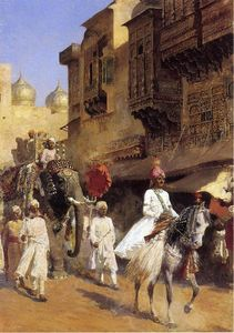 Edwin Lord Weeks - Indian Prince and Parade Ceremony