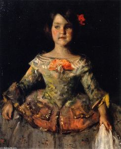 William Merritt Chase - The Infanta (also known as My LIttle Daughter Helen Velazque Posing as an Infanta)