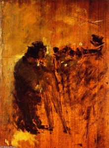 Jean Louis Forain - In Front of the Stock Exchange No. 2