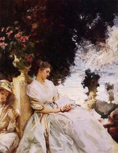 John Singer Sargent - In the Garden, Corfu