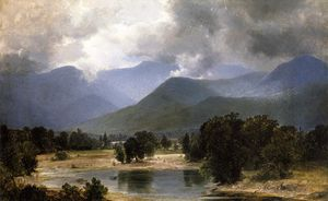 Alexander Helwig Wyant - In the Keene Valley, New York