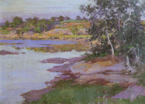 Willard Leroy Metcalf - Inlet at East Boothbay Harbor