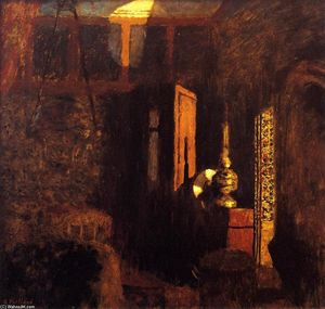 Jean Edouard Vuillard - Interior (also known as Interior, Mystery)