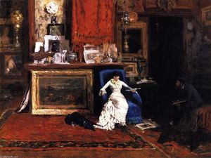 William Merritt Chase - Interior of the Artist's Studio (also known as The Tenth Street Studio)