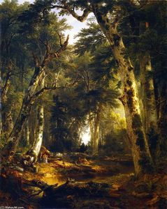 Asher Brown Durand - In the Woods