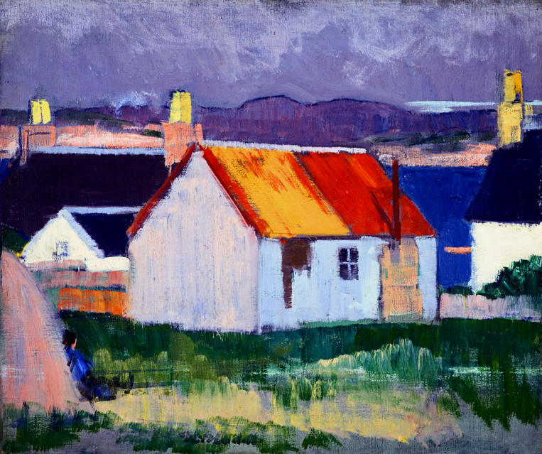 Iona, 1920 by Francis Campbell Boileau Cadell (1883-1937) | Oil Painting | WahooArt.com