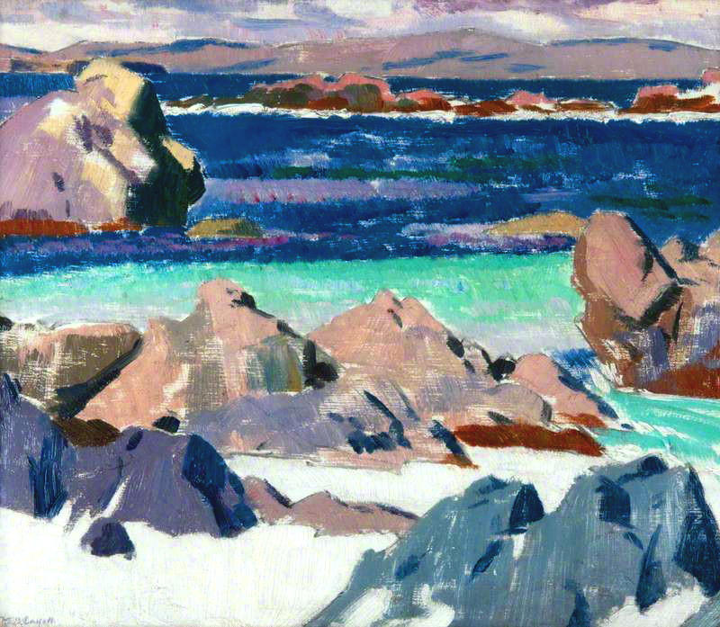 Iona, North End, 1923 by Francis Campbell Boileau Cadell (1883-1937) | Museum Quality Reproductions | WahooArt.com