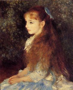 Pierre-Auguste Renoir - Irene Cahen d'Anvers (also known as Little Irene)