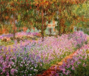 Claude Monet - Irises in Monet's Garden