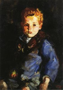 Robert Henri - The Irish Boy in Blue Denim - Anthony Lavelle