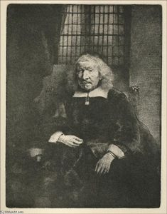 Rembrandt Van Rijn - Jacob Haring: Portrait Known as 'The Old Haring'