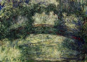 Claude Monet - The Japanese Bridge (10)