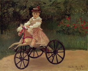 Claude Monet - Jean Monet on His Horse Tricycle