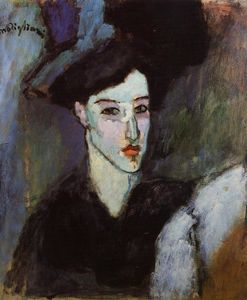 Amedeo Modigliani - The Jewish Woman (also known as The Jewess)