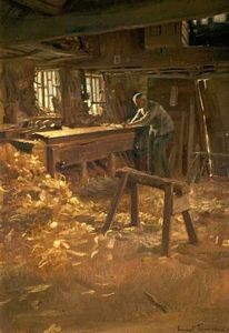 Ernest Townsend - The Joiner