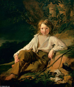 Friedrich Ritter Von Amerling - Josef von Amerling (also known as Fisherboy)
