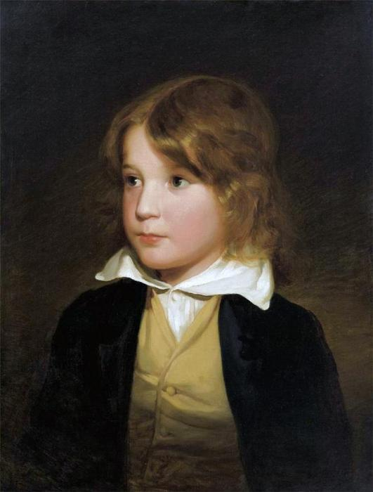 Joseph Amerling As A Child (also known as The Artist?s Brother) by Friedrich Ritter Von Amerling (1803-1887)