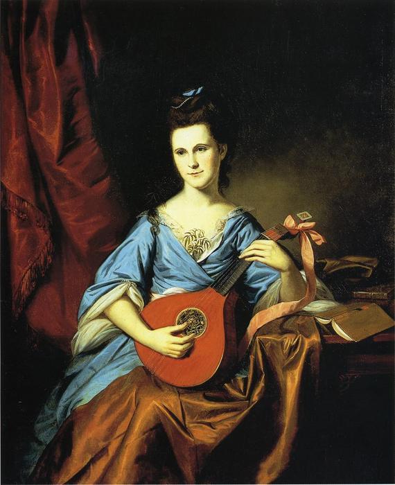 Julia Stockton (Mrs. Benjamin)...