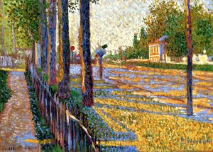 Paul Signac - The Junction at Bois-Columbes