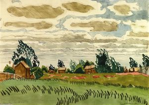Charles Ephraim Burchfield - June Clouds