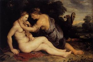 Peter Paul Rubens - Jupiter and Callisto