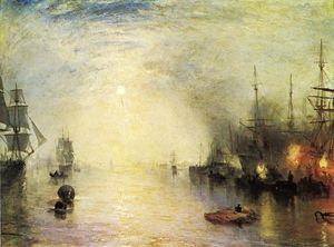 William Turner - Keelmen Heaving in Coals by Night