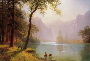 Albert Bierstadt - Kern River Valley, California